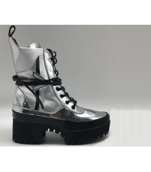 Ботинки женские Louis Vuitton (Луи Виттон) CheckPoint Silver