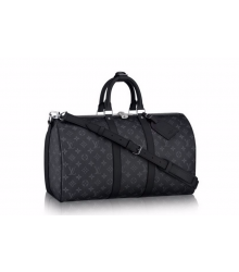 Дорожная сумка Louis Vuitton (Луи Виттон) Dark Grey/Black