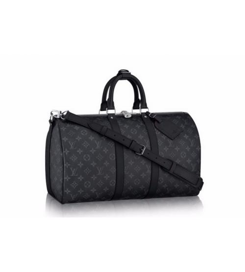 Дорожная сумка Louis Vuitton (Луи Виттон) Dark Grey/Black