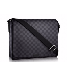 Сумка мужская Louis Vuitton (Луи Виттон) District MM Grey/Black