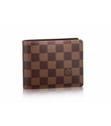 Кошелёк мужской Louis Vuitton (Луи Виттон) Florin Wallet Damier Brown