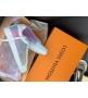 Женские кеды Louis Vuitton (Луи Виттон) Frontrow кожаные на шнурках White/Color