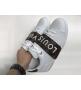 Женские кеды Louis Vuitton (Луи Виттон) Frontrow кожаные White/Brown