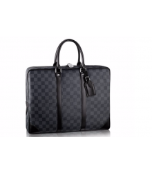 Портфель мужской Louis Vuitton (Луи Виттон) Grey Black