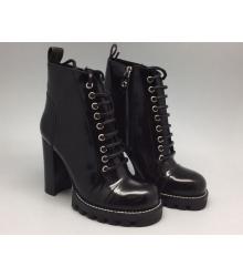 Ботильоны женские Louis Vuitton (Луи Виттон) High Black