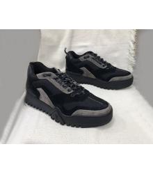 Кроссовки мужские Louis Vuitton (Луи Виттон) Hiking комбинированные Brown