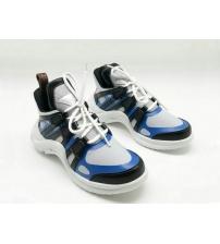 Женские кроссовки Louis Vuitton (Луи Виттон) Archlight White/Blue
