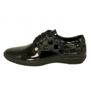 Кроссовки Louis Vuitton (Луи Виттон) лаковые New Black