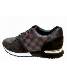 Кроссовки Louis Vuitton (Луи Виттон) Leather New Brown