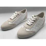 Женские кроссовки Louis Vuitton (Луи Виттон) летние Run Away White