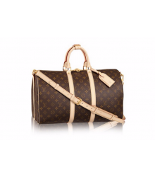 Сумка дорожная Louis Vuitton (Луи Виттон) light Brown
