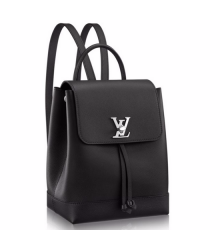 Рюкзак женский Louis Vuitton (Луи Виттон) Lockme Black