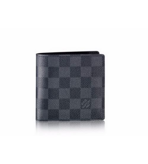 Бумажник мужской Louis Vuitton (Луи Виттон) Marco Wallet Graphite Green/Black