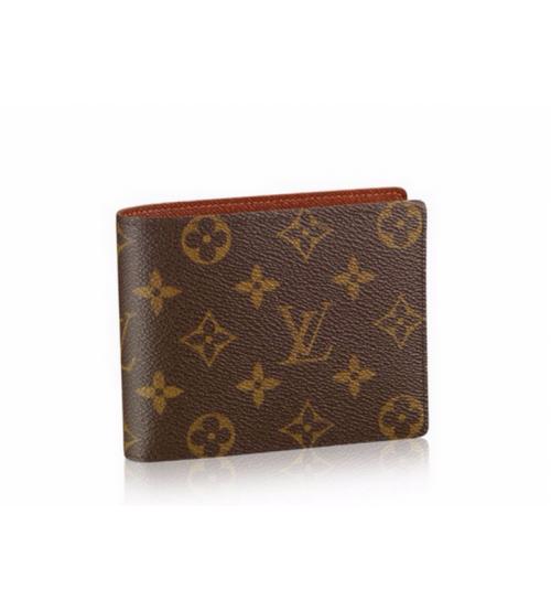 Бумажник мужской Louis Vuitton (Луи Виттон) Marco Wallet Monogram Brown