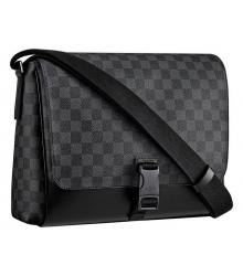 Сумка мужская Louis Vuitton (Луи Виттон) Messenger MM Green/Black