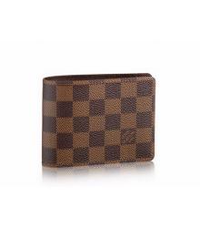 Бумажник мужской Louis Vuitton (Луи Виттон) Multiple Wallet Damier Brown