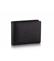 Бумажник мужской Louis Vuitton (Луи Виттон) Multiple Wallet Epi Black
