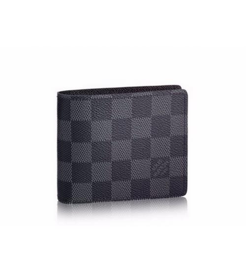 Бумажник мужской Louis Vuitton (Луи Виттон) Multiple Wallet Graphit Green/Black