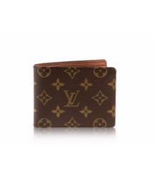 Бумажник мужской Louis Vuitton (Луи Виттон) Multiple Wallet Monogram Black