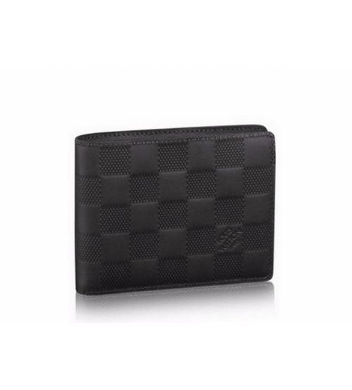 Бумажник мужской Louis Vuitton (Луи Виттон) Multiple Wallet Onyx Black