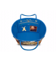 Женская сумка Louis Vuitton (Луи Виттон) Neverfull Masters Rubens Blue