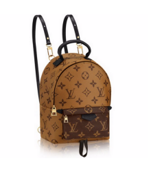 Рюкзак Louis Vuitton (Луи Виттон) Palm Springs Mini Monogram Reverse Brown