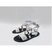 Женские сандалии Louis Vuitton (Луи Виттон) Passenger кожаные White