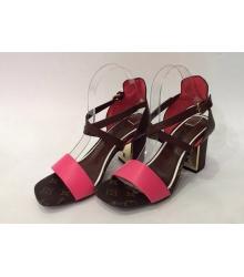 Босоножки женские Louis Vuitton (Луи Виттон) Pink