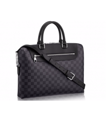 Сумка Louis Vuitton (Луи Виттон) Porte Documnets Jour Graphite Green/BLack