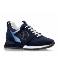 Женские кроссовки Louis Vuitton (Луй Виттон) Run Away Blue