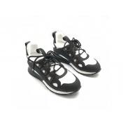 Женские кроссовки Louis Vuitton (Луи Виттон) Run Away комбинированные Black/White