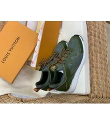 Женские кроссовки Louis Vuitton (Луи Виттон) Aftergame летние текстиль Green