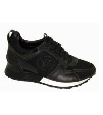 Женские кроссовки Louis Vuitton (Луи Виттон) Run Away New Black