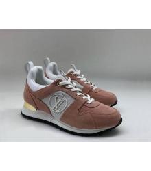d1c53fd2be99 Скидки Женские кроссовки Louis Vuitton (Луи Виттон) Run Away замшевые Brown