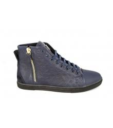 Кроссовки мужские Louis Vuitton (Луи Виттон) high Blue