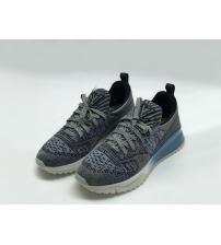 Женские кроссовки Louis Vuitton (Луи Виттон) Sneakers на шнурках Gray