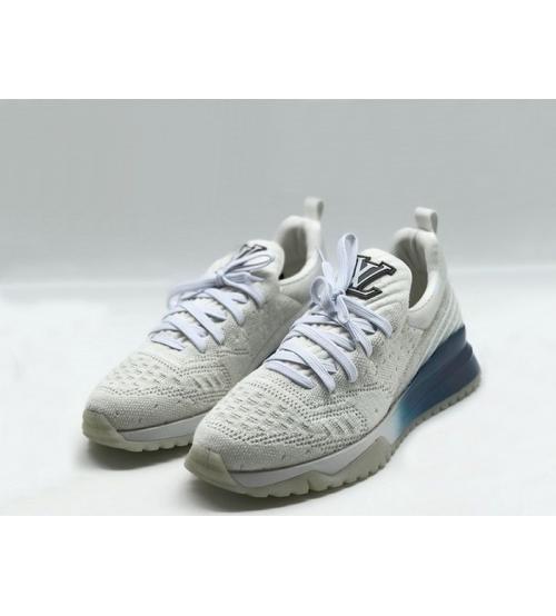 Женские кроссовки Louis Vuitton (Луи Виттон) Sneakers на шнурках White