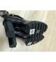 Ботильоны женские Louis Vuitton (Луи Виттон) Star Trail кожаные на каблуке с ремешком Black/Brown