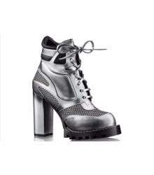 Ботильоны женские Louis Vuitton (Луи Виттон) Star Trial Silver