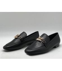Лоферы женские Louis Vuitton (Луи Виттон) Upper Case кожаные Brown