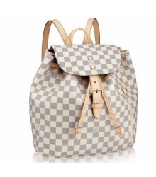 Рюкзак женский Louis Vuitton (Луи Виттон) Vuitton Sperone White