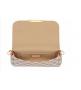 Женская сумка Louis Vuitton (Луи Виттон)White/Gold
