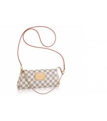 Клатч сумка женская Louis Vuitton (Луи Виттон) White/Gold
