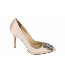 Туфли женские Manolo Blahnik (Маноло Бланко) Beige