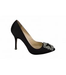 Туфли женские Manolo Blahnik (Маноло Бланко) Black