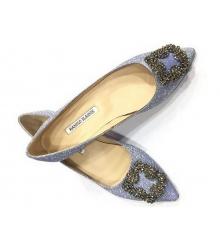 Балетки женские Manolo Blahnik (Маноло Бланко) Blue