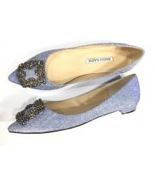 Туфли женские Manolo Blahnik (Маноло Бланко) Blue