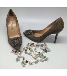 Туфли женские Manolo Blahnik (Маноло Бланко) Grey