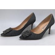 Туфли лодочки женские Manolo Blahnik (Маноло Бланко) Hangisi Grey
