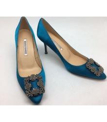 Туфли женские Manolo Blahnik (Маноло Бланко) Light Blue